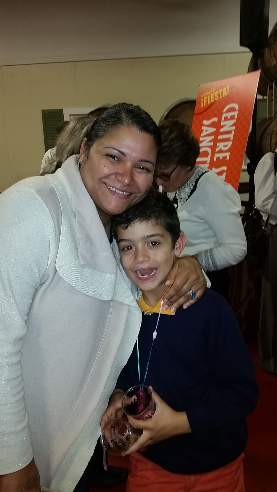 Victoria Amador CEO of Bostons Best Commercial Cleaning with son Tyler Atkins