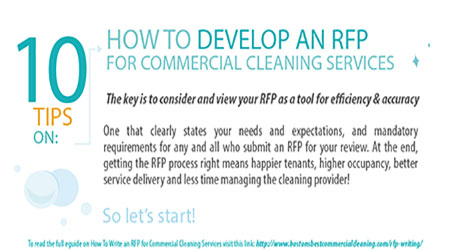 How to Develop an RFP for Commercial Cleaning Services
